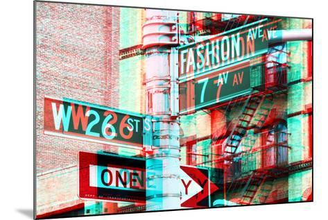 After Twitch NYC - Fashion Avenue-Philippe Hugonnard-Mounted Photographic Print