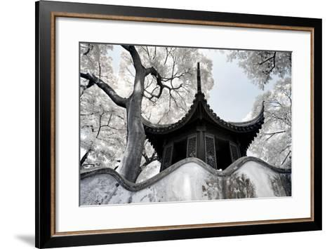 China 10MKm2 Collection - Another Look - Temple-Philippe Hugonnard-Framed Art Print
