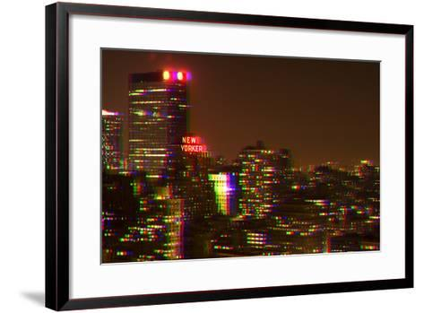 After Twitch NYC - Red Night-Philippe Hugonnard-Framed Art Print
