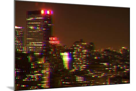 After Twitch NYC - Red Night-Philippe Hugonnard-Mounted Photographic Print