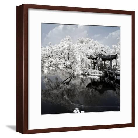 China 10MKm2 Collection - Another Look - View of the Temple-Philippe Hugonnard-Framed Art Print