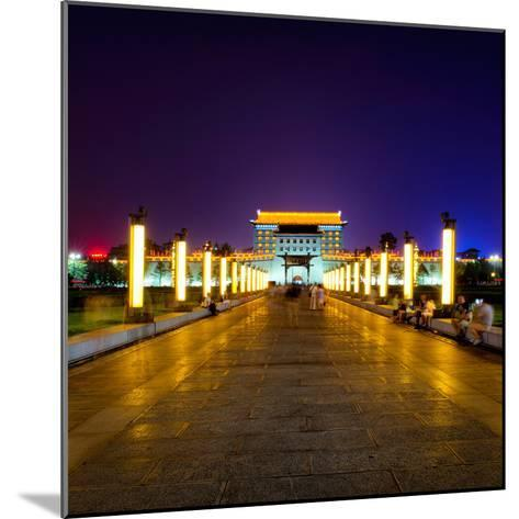 China 10MKm2 Collection - City Lights - Xi'an City-Philippe Hugonnard-Mounted Photographic Print