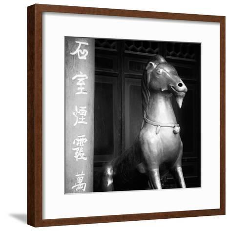 China 10MKm2 Collection - Chinese Statue-Philippe Hugonnard-Framed Art Print