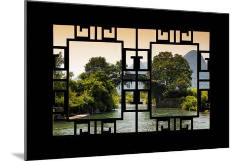 China 10MKm2 Collection - Asian Window - Guilin Yangshuo Bridge-Philippe Hugonnard-Mounted Photographic Print