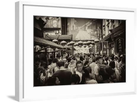 China 10MKm2 Collection - Chinese Street Atmosphere-Philippe Hugonnard-Framed Art Print