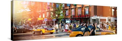 China 10MKm2 Collection - Chinese Street Atmosphere-Philippe Hugonnard-Stretched Canvas Print