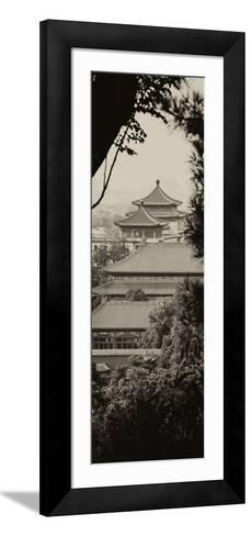 China 10MKm2 Collection - Forbidden City Architecture - Beijing-Philippe Hugonnard-Framed Art Print