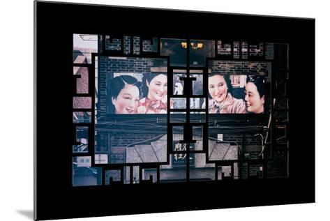 China 10MKm2 Collection - Asian Window - Vintage Chinese Shanghai Girls-Philippe Hugonnard-Mounted Photographic Print