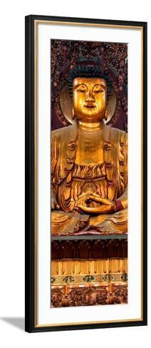 China 10MKm2 Collection - Gold Buddha-Philippe Hugonnard-Framed Art Print