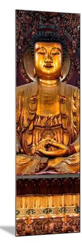 China 10MKm2 Collection - Gold Buddha-Philippe Hugonnard-Mounted Photographic Print