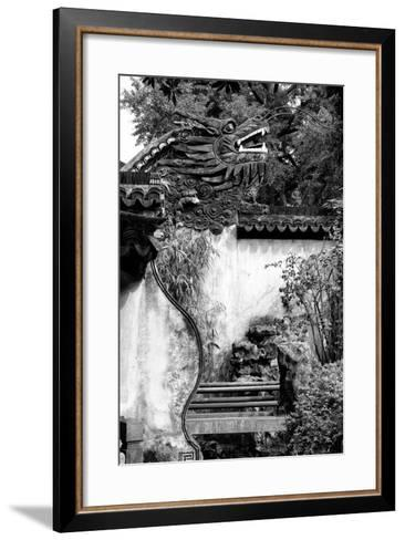 China 10MKm2 Collection - Chinese Dragon Head-Philippe Hugonnard-Framed Art Print