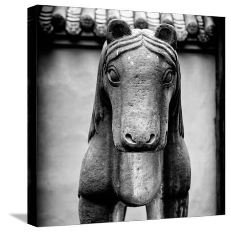China 10MKm2 Collection - Horse Statue-Philippe Hugonnard-Stretched Canvas Print