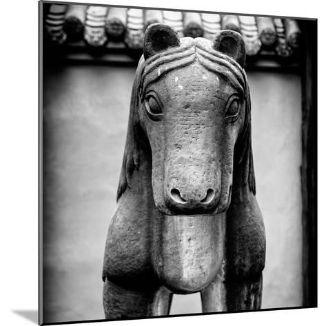 China 10MKm2 Collection - Horse Statue-Philippe Hugonnard-Mounted Photographic Print