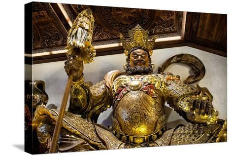 China 10MKm2 Collection - Guardian of the Temple-Philippe Hugonnard-Stretched Canvas Print