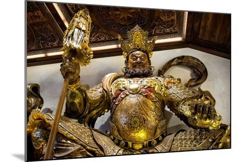 China 10MKm2 Collection - Guardian of the Temple-Philippe Hugonnard-Mounted Photographic Print