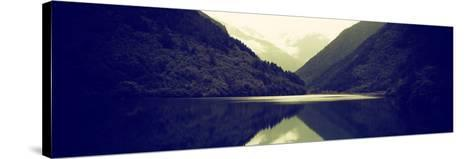 China 10MKm2 Collection - Rhinoceros Lake - Jiuzhaigou National Park-Philippe Hugonnard-Stretched Canvas Print