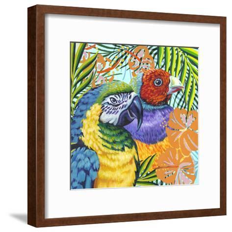 Luau II-Carolee Vitaletti-Framed Art Print