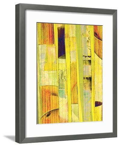 Yellow Mix I-Ricki Mountain-Framed Art Print