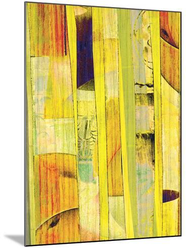 Yellow Mix I-Ricki Mountain-Mounted Art Print