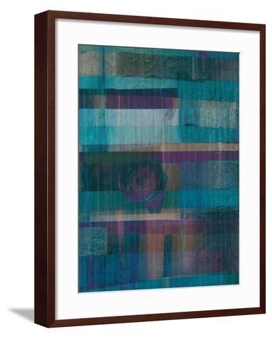 Underwater I-Ricki Mountain-Framed Art Print