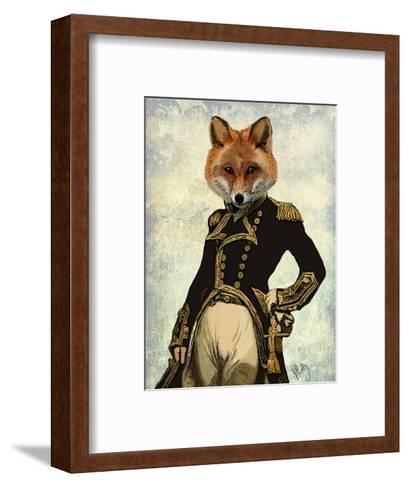 Admiral Fox Full-Fab Funky-Framed Art Print