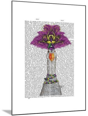 Goose Mardi Gras Headdress-Fab Funky-Mounted Art Print