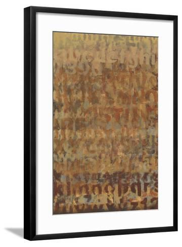 Earthen Language II-Norman Wyatt Jr^-Framed Art Print