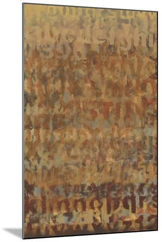 Earthen Language II-Norman Wyatt Jr^-Mounted Art Print