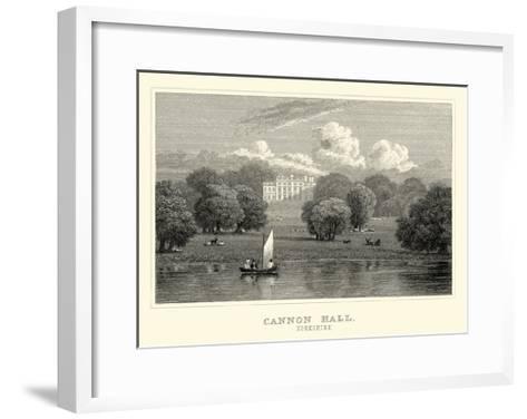 Cannon Hall-J^p^ Neale-Framed Art Print