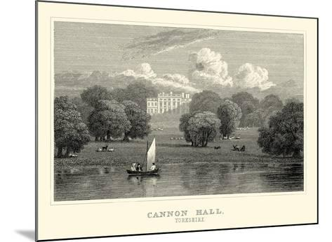 Cannon Hall-J^p^ Neale-Mounted Art Print