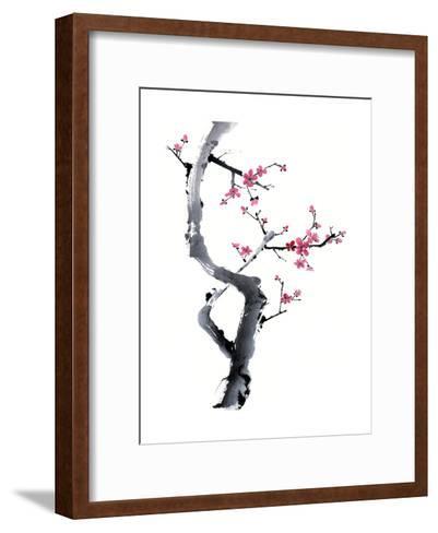 Plum Blossom Branch I-Nan Rae-Framed Art Print