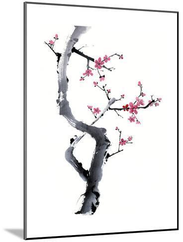 Plum Blossom Branch I-Nan Rae-Mounted Art Print