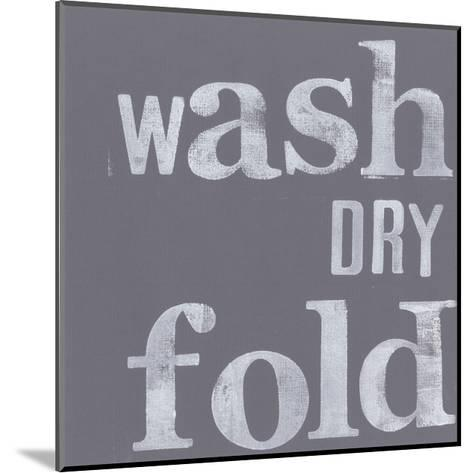Fresh Laundry III-Deborah Velasquez-Mounted Art Print