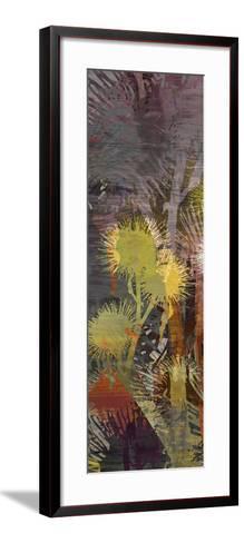 Thistle Panel III-James Burghardt-Framed Art Print