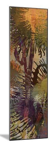 Thistle Panel II-James Burghardt-Mounted Art Print