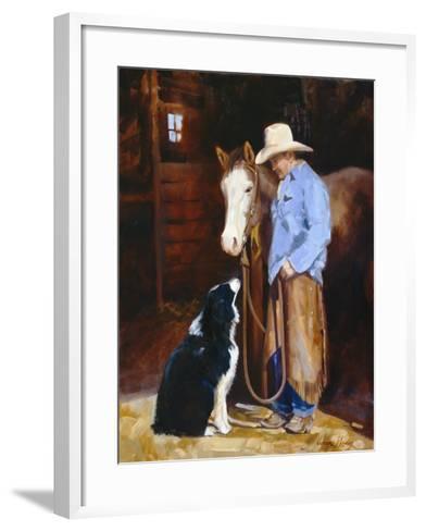 Hey, Buddy-Carolyne Hawley-Framed Art Print