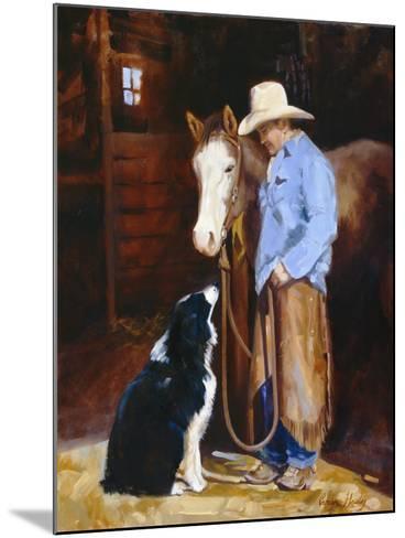 Hey, Buddy-Carolyne Hawley-Mounted Art Print