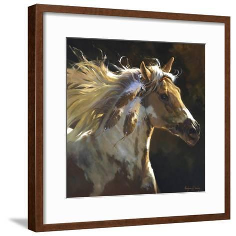 Spirit Horse-Carolyne Hawley-Framed Art Print