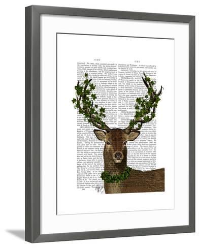 Green King-Fab Funky-Framed Art Print