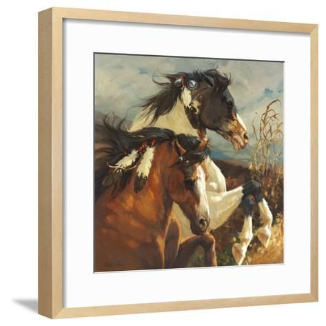 Wind Voyager-Carolyne Hawley-Framed Art Print