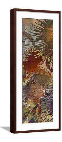 Thistle Panel IV-James Burghardt-Framed Art Print