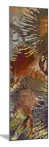 Thistle Panel IV-James Burghardt-Mounted Art Print