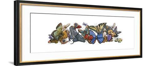 Wings of Splendor I-Wendy Russell-Framed Art Print
