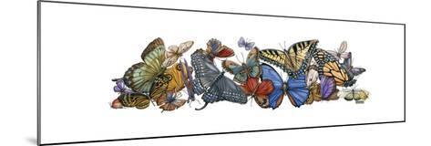 Wings of Splendor I-Wendy Russell-Mounted Art Print