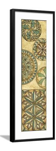 Non-Embellsh.Stained Glass Panel II-Vision Studio-Framed Art Print
