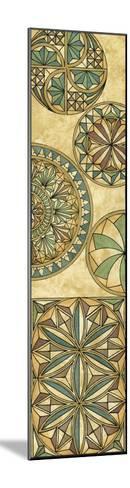 Non-Embellsh.Stained Glass Panel II-Vision Studio-Mounted Art Print