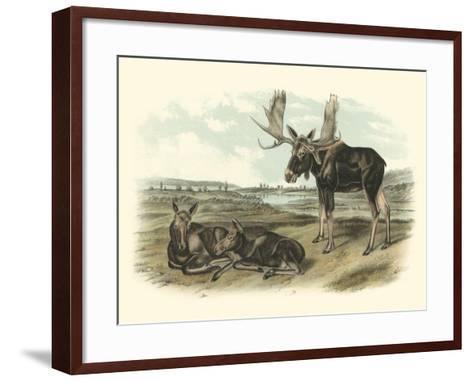 Moose Deer Art Print by John James Audubon | Art.com