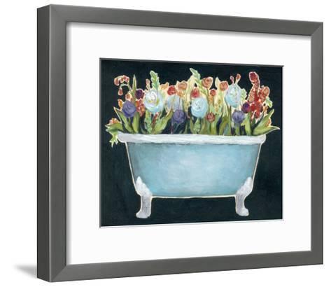 2-Up Bathtub Garden I-Grace Popp-Framed Art Print