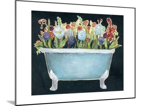 2-Up Bathtub Garden I-Grace Popp-Mounted Art Print