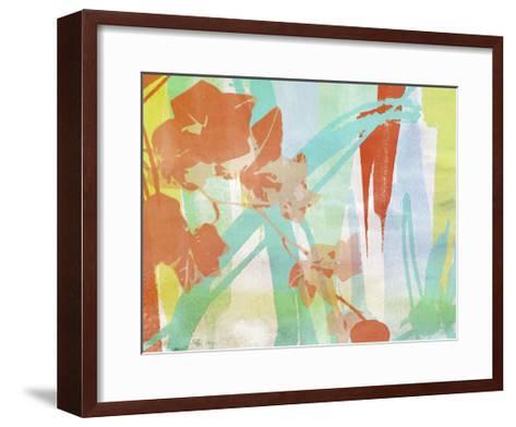 A Leaf Was Born I-Irena Orlov-Framed Art Print